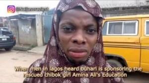 "Video: Naijas Craziest Comedy – Chibok ""Girl"" Rescued in Lagos"